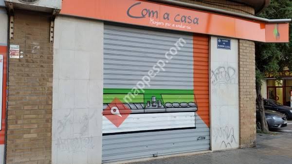 COM A CASA. COMIDA PARA LLEVAR Y CATERINGS