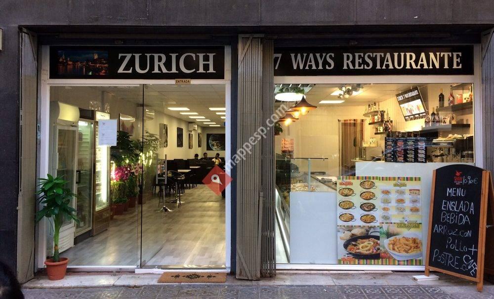 Zurich 7 Ways Restaurante
